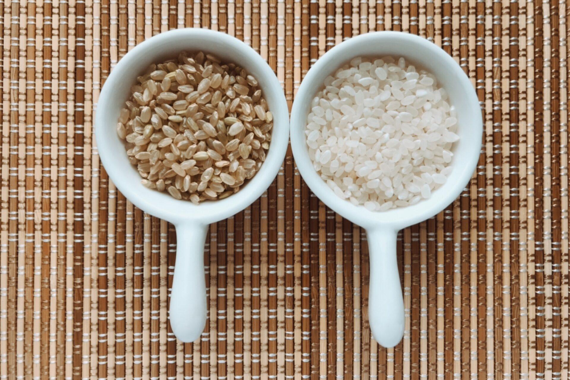 白米と玄米混合